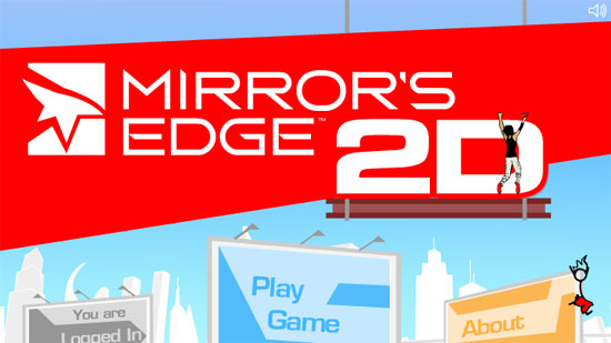 mirrors edge flash game